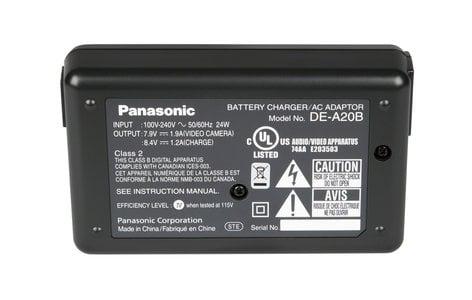 Panasonic DE-A20BC AC Adapter for AG-HPX170 (No Cord) DE-A20BC