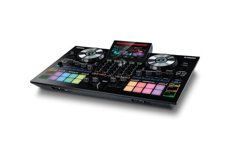 Reloop TOUCH-RELOOP-RST-01 TOUCH [RESTOCK ITEM] DJ Controller with 7-Inch Touchscreen and with Virtual DJ TOUCH-RELOOP-RST-01