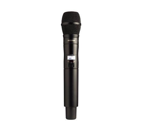 Shure ULXD2/KSM9HS-G50 Wireless Handheld Transmitter with KSM9HS/BK Capsule, G50 Frequency Band ULXD2/KSM9HS-G50