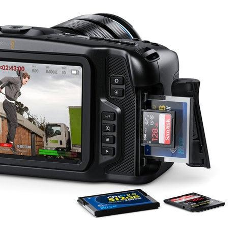 Blackmagic Design Cinecampochdmft4k Blackmagic Pocket Cinema Camera 4k Full Compass Systems