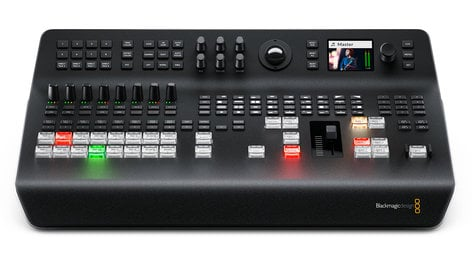 Blackmagic Design ATEM Television Studio Pro 4K Ultra HD Live Production Switcher with 8 Standards Converted SWATEMTVSTU/PRO4K