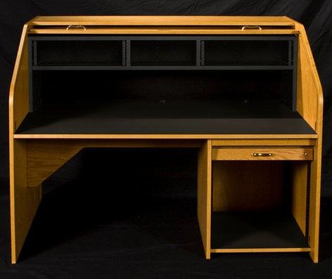 HSA Rolltops HREXT-II High Rise Extended Rolltop Desk HREXT-II