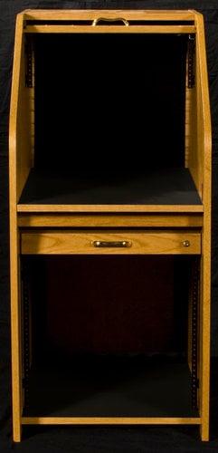 HSA HRMINI-II High Rise Mini Rolltop Desk HRMINI-II
