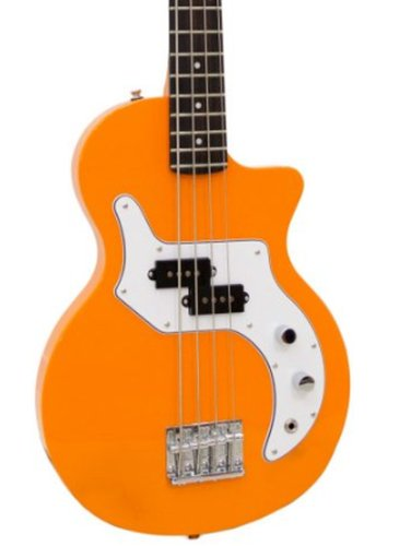Orange OBASS-OR O Bass 4 String Electric Bass with Orange Finish OBASS-OR