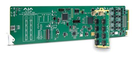 AJA OG-3G-AMA  openGear Analog Audio 3G-SDI Embedder/Disembedder with DashBoard Support OG-3G-AMA