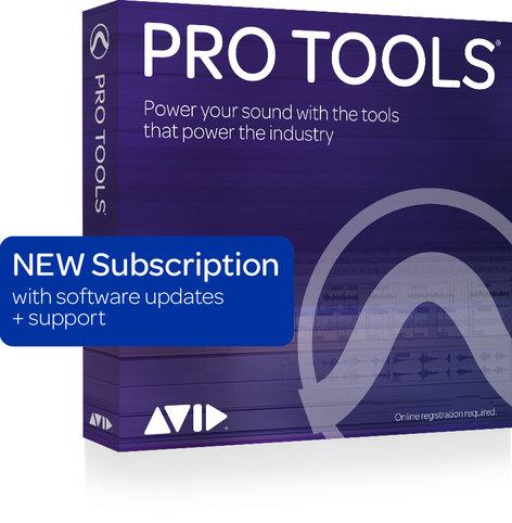 Avid Pro Tools® 1-Year Subscription [BOX] PROTOOLS-ANNUAL-SUB