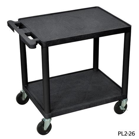 "Da-Lite PL2-26 PixMate® Plastic Cart with 18""x24"" Shelf 4690"