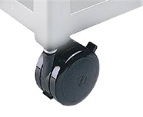 "Bretford Manufacturing 044-0025 Hard Rubber Casters, 5"" 044-0025"