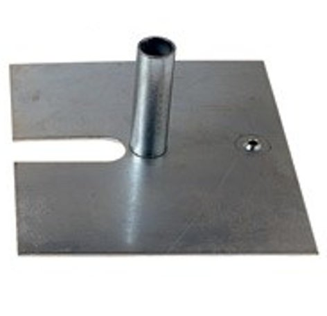 """Rose Brand BASEPLATE-12LBS 12 lb, 14"""" x 16"""" x 3/16"""" Base Plate with Pins BASEPLATE-12LBS"""