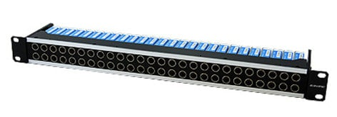 Canare 24DV-2U 75 Ohm Digital Video Patchbay, 24 point, 2RU 24DV-2U