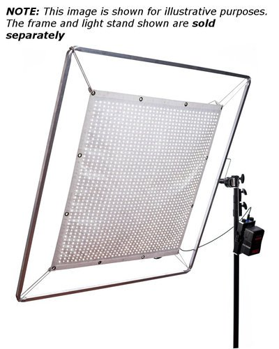 Aladdin FBS200BIKITGM FABRIC-LITE Gold Mount Kit 200W Bi-Color LED Panel with Dimmer Unit, Power Supply and Extension Cables FBS200BIKITGM
