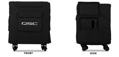 QSC KW181-COVER KW181 Cover Padded Cover with Grille Guard KW181-COVER