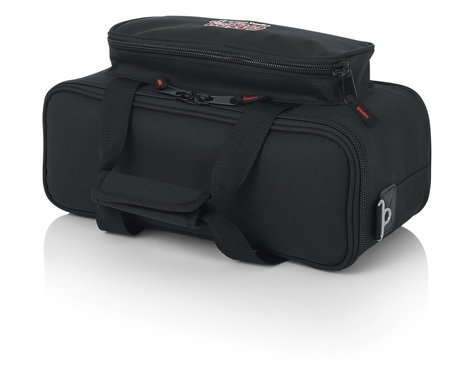 Gator Cases GM-12B Padded Microphone Bag with Cable Pocket, Holds up to 12 Mics GM12B