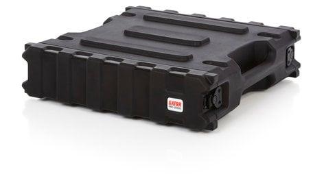 "Gator Cases G-PRO-2U-19 2RU, 19"" Deep Molded Audio Rack G-PRO-2U-19"