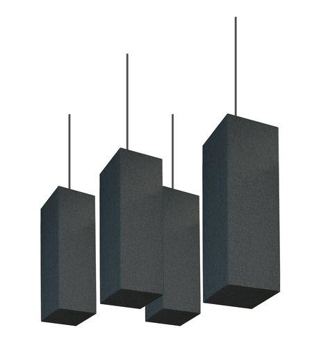 "Primacoustic Shoji Square Acoustic Lantern Baffle, 24""H x 10""W, Quantity of 4 SHOJI"