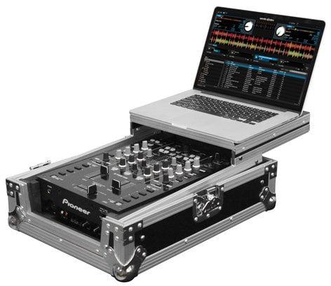 "Odyssey FZGS10MX1 Flight Zone Low Profile Glide Style Series Universal 10"" DJ Mixer Case FZGS10MX1"
