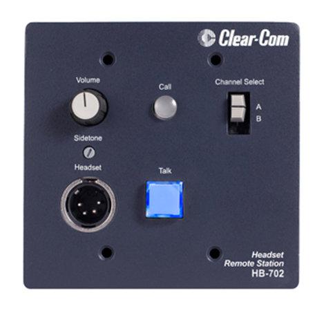 Clear-Com HB-702 Intercom Headset Station, 2 Channel HB-702