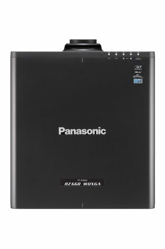 Panasonic PT-RZ770BU [RESTOCK ITEM] 7200 Lumen WUXGA Laser Projector in Black PTRZ770BU-RST-01