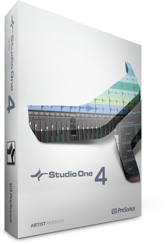 PreSonus S1-4-ART-BOX Studio One 4 Artist Creative Music Software S1-4-ART-BOX
