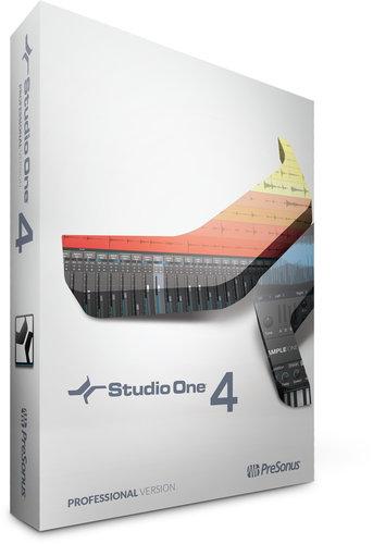 PreSonus S1-4-PRO-BOX Studio One 4 Professional Professional Music Notation Software S1-4-PRO-BOX