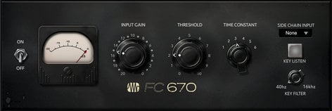 PreSonus FAT-FC670 FC-670 Compressor Fat Channel Compressor Plug-in [VIRTUAL] FAT-FC670