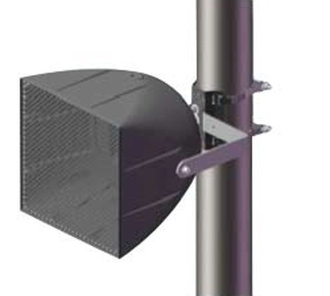 Community PMB-1RR Pole Mount Bracket for Single Loudspeaker with Vertical Downtilt to 90 Degrees PMB-1RR