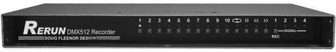 Doug Fleenor Designs RERUN-R3 3-Universe Lighting Controller, Rackmount RERUN-R3