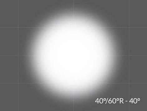 "Rosco OPTI-SCULPT-40/60-20 24""x20"" Sheet of 40° / 60° Reversible OPTI-SCULPT Filter OPTI-SCULPT-40/60-20"