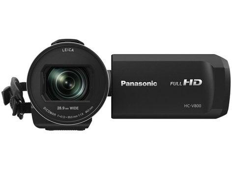 "Panasonic HC-V800K  1/2.5"" BSI Sensor HD Camcorder with 24X Lens and 3 O.I.S. Stabilizers HC-V800K"