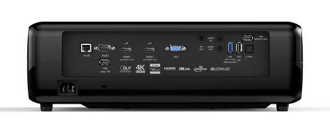 Optoma UHD51A 2400 Lumen Alexa-Compatible 4K UHD Projector UHD51A