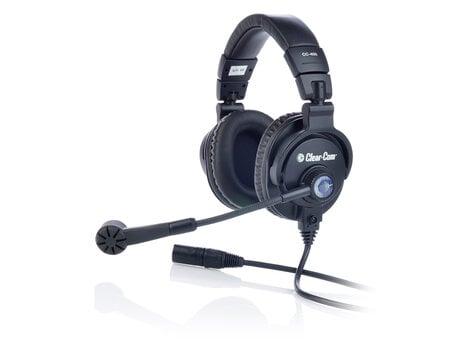 Clear-Com CC-400-X4 Double-Ear Headset (Terminated with XLR-F) CC-400-X4