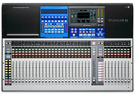 PreSonus STUDIOLIVE-32-AVB5-K Digital Mixer Bundle with Mixers, Personal Monitor Mixers, Stageboxes, Ethernet Switches, Cables STUDIOLIVE-32-AVB5-K