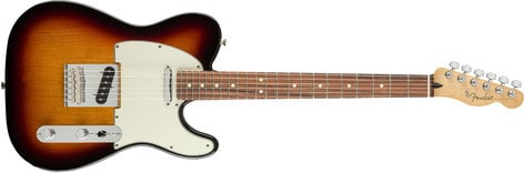 Fender TELE-PLAYER-PF Player Telecaster Electric Guitar with Pao Ferro Fingerboard TELE-PLAYER-PF