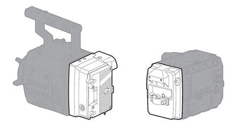 Panasonic AU-VEXT1G VariCam Extension Module AU-VEXT1G