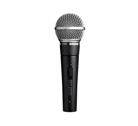 Shure SM58S Dynamic Cardioid Vocal Microphone with Switch SM58S