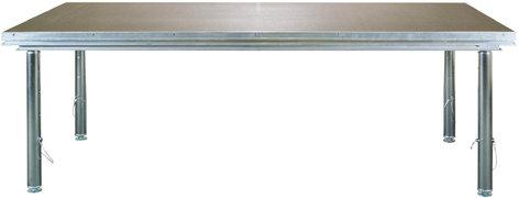Global Truss GT-STAGE/ADJUST Adjustable Mobile Stage with Removable Legs GT-STAGE/ADJUST