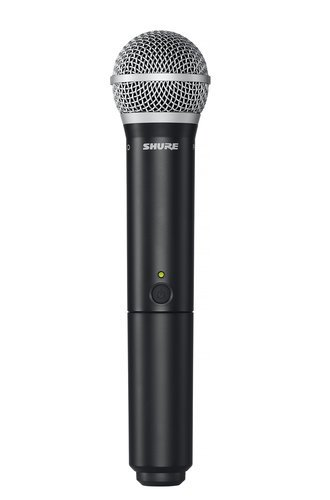 Shure BLX2/PG58-H10 Handheld Wireless Microphone Transmitter, H10 Frequency: 542-572 MHz BLX2/PG58-H10