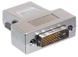 Hosa NDH445 Video Adaptor, HDMI Female to DVI-D Male NDH445