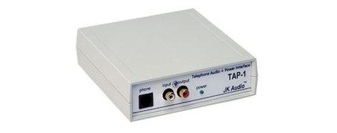 JK Audio TAP-1 Telephone Audio & Power Adapter TAP1