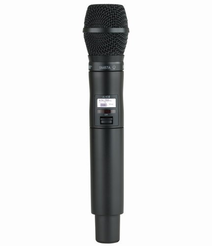 Shure ULXD2/SM87-G50 ULXD2 SM87 Wireless Handheld Microphone Transmitter, G50 Band ULXD2/SM87-G50