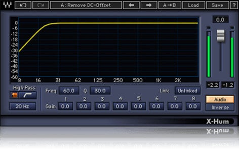 Waves X-Hum [DOWNLOAD] Hum Removal Plugin XHTDM