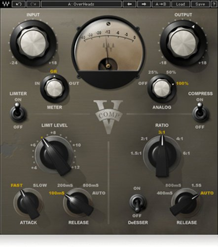 waves compressor for bass