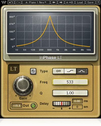 Waves InPhase LT [DOWNLOAD] Phase Correction Plugin INPHTDMLT