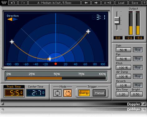 Waves Doppler [DOWNLOAD] Effect Plugin V5-DPD40