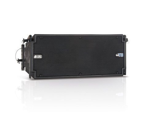 DB Technologies DVA-T8 175W 3-Way Active Line Array Speaker DVA-T8