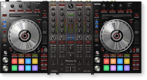 Pioneer DDJ-SX3  4 Channel DJ Controller for Serato DDJ-SX3