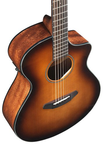 Breedlove DISC-CONCRT-CE-SB-2 Discovery Concert Sunburst CE Acoustic Guitar with Sitka Top and Mahogany Back/Sides DISC-CONCRT-CE-SB-2