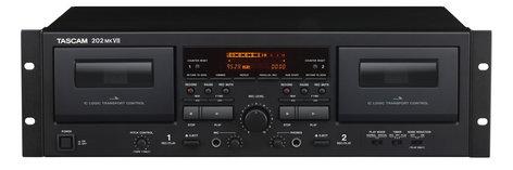 Tascam 202MK7 202mkVII Double Cassette Deck  202MK7