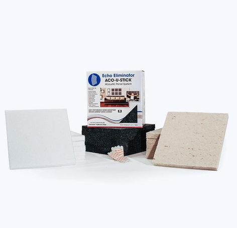 Acoustic Geometry ACOUSTIK6PK Aco-U-Stick Mini Panel, 6 Pack ACOUSTIK6PK