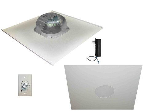 OWI Incorporated 2X2FG-HDTR62SVC  In-Ceiling Speaker Package with Volume Control 2X2FG-HDTR62SVC